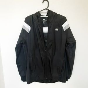 Adidas Size M Running Windbreaker Jacket